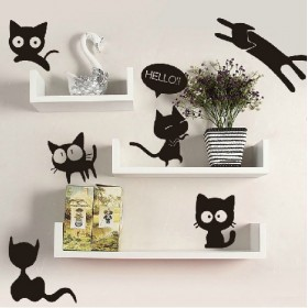 Cute Cats Vinyl Wall Art