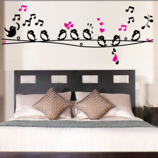 The Birds Are Singing Wall Decal