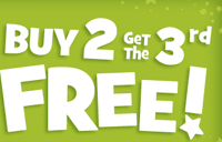 buy 2 get 3rd for free