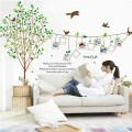 Tree of Life Photo Frames & Birds Wall Sticker