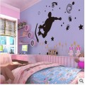 Skater Boy Wall Sticker
