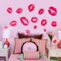 Red Lips for Your Own Space Wall Sticker