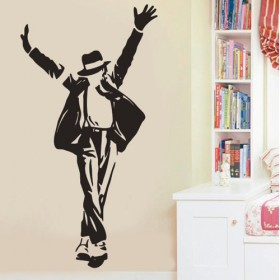 Dancing Jackson Vinyl Wall Art Decals