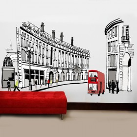 Rome Scenes Wall Decals