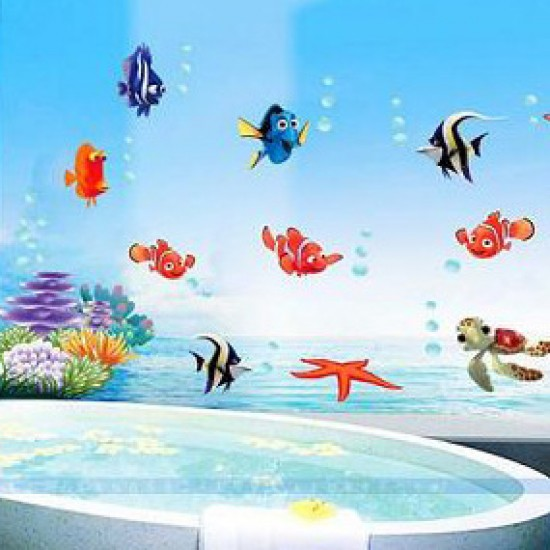 The Undersea World: Shark, Fish, Turtle, Coral