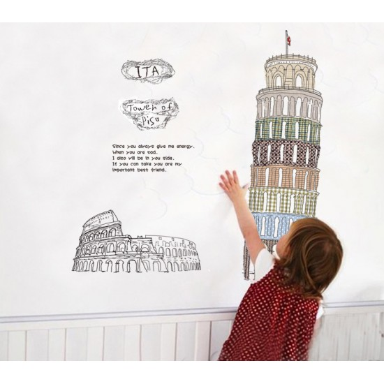 Pisa Tower Wall Art