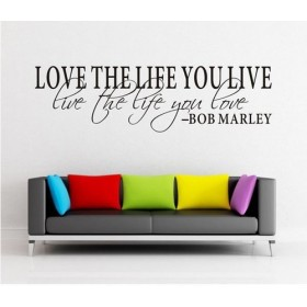 Wall Lettering from Bob Marley