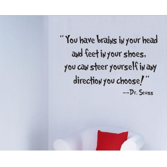 Choose Your Own Direction--Dr. Seuss