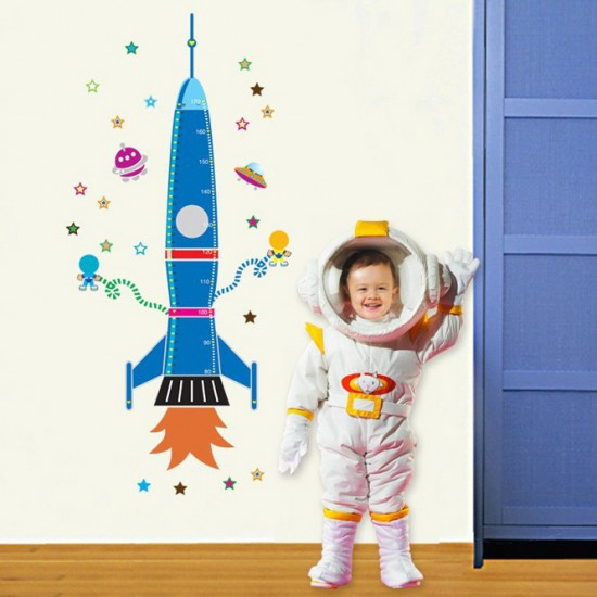 Grow Fast As A Rocket Wall Art