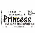 If the Crown Fits Princess Wall Decal