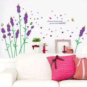 Lavender Wall Sticker
