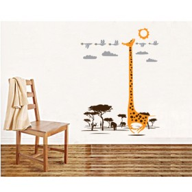 Under the Sun Animal Wall Decal