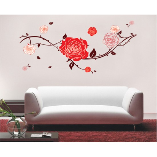 Beautiful Roses Wall Sticker