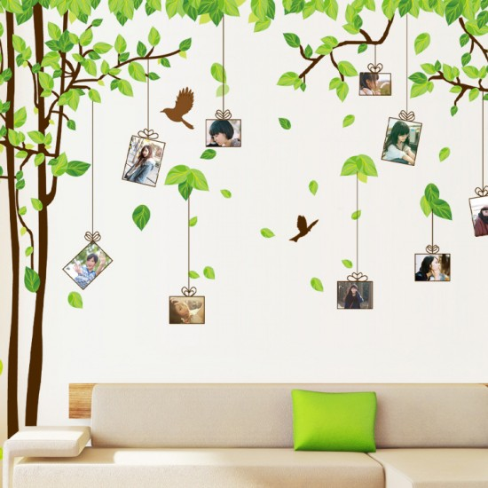 Photo Frames Tree Wall Sticker by wallstudios.co.uk
