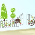 Sweet Home and Cartoon Tree Wall Art