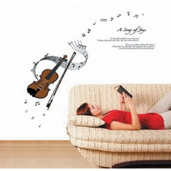 Music Notes from Violin