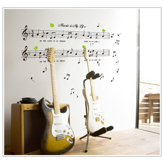 Music Is My Life Wall Art