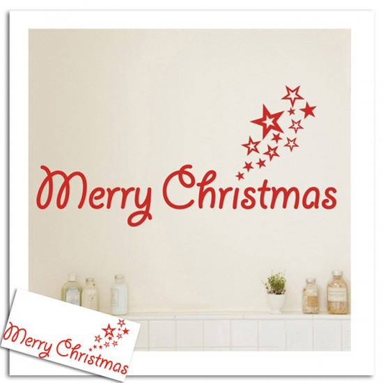 Christmas Wall Art Decal