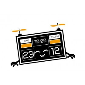 Score Board Wall Decal