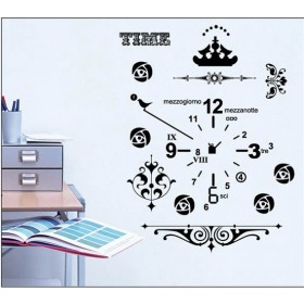 Wall Clock Art Decals