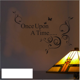 Once Upon a Time Wall Lettering