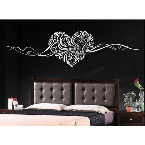 Classical Heart Wall Decal