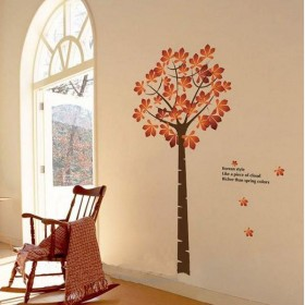 Maple Tree with Words